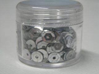 Flitry lomené 6mm v dóze 7g různé barvy