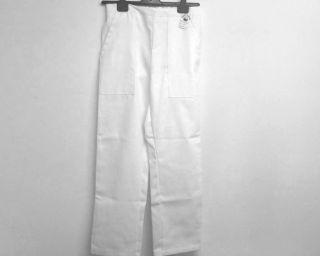 Dámské pracovní kalhoty bílé